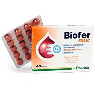 Biofer Folic 40 tabletek