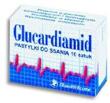 Glucardiamid 10 tabletek do ssania