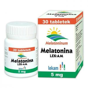 Melatonina 5mg 30 tabletek
