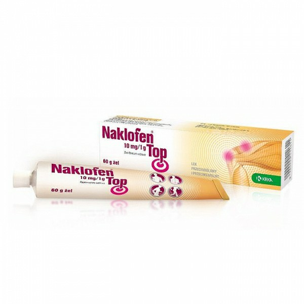 Naklofen 10mg1g TOP żel 60g