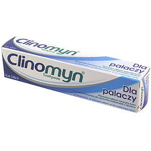 CLINOMYN Pasta do zębów d palacz. 75 ml