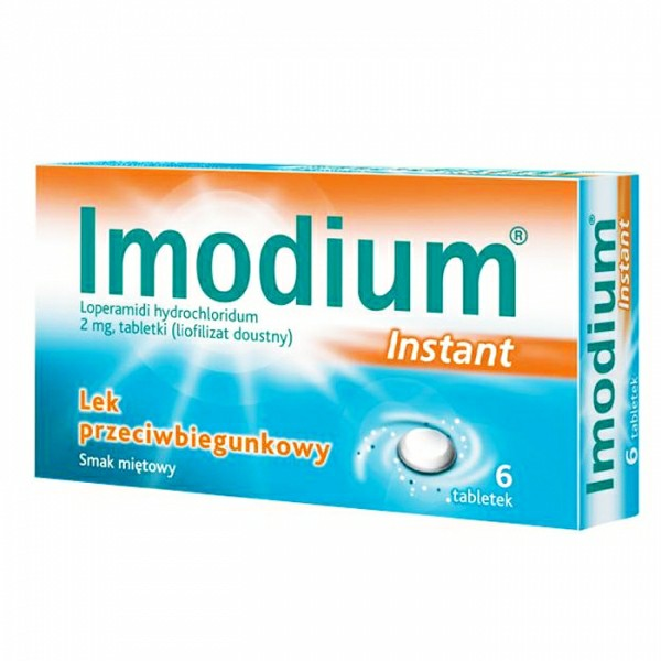 Imodium Instant 2 mg 6 tabletek