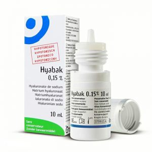 Hyabak 0,15% krople do oczu 10 ml